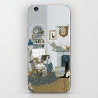 nursery iPhone & iPod Skins featuring Baby Animal Nursery by Yuliya