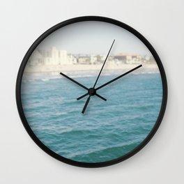 Santa Monica Beach II Wall Clock