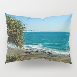Pandanus Palms- Moffat Beach, Australia Pillow Sham