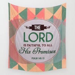 Fathful to His Promises Wall Tapestry