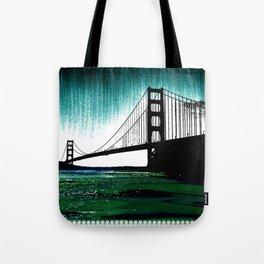 Blacken Gate-San Francisco Tote Bag
