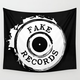 Fake Records Wall Tapestry