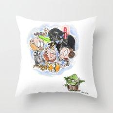Do. Or do not. Throw Pillow