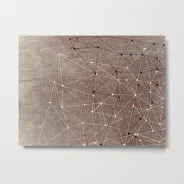 Impulse Metal Print