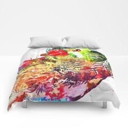 Zebra Finch Comforters