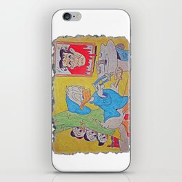 Donald Duck Halloween Trick II iPhone Skin
