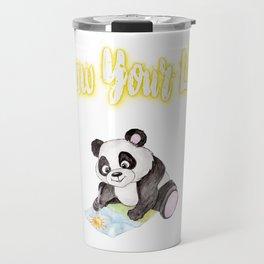 Draw Your Life Panda Bear Gifts Travel Mug