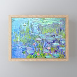 Water Lilies monet : Nympheas Framed Mini Art Print