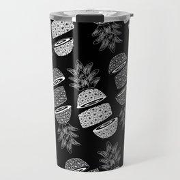 Pineapples (Dark/Sliced) Travel Mug