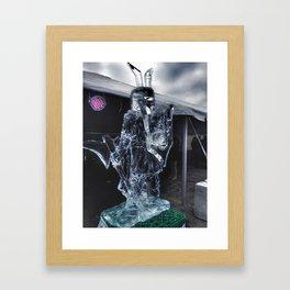 Ice Warrior at Icestravaganza, 2017 Framed Art Print