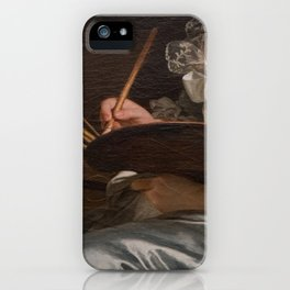 The palette and a lace iPhone Case