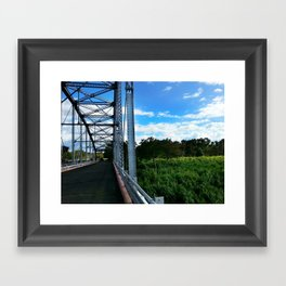 Old Añasco Bridge Framed Art Print