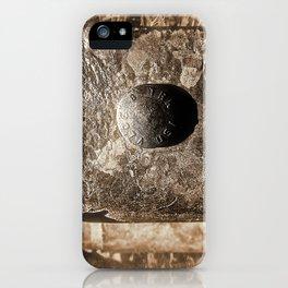 Sepia Guard Rail iPhone Case