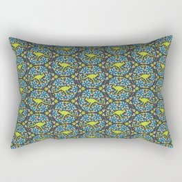 Flowers & Roos Rectangular Pillow