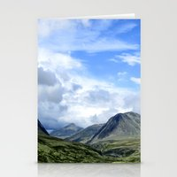 norway Stationery Cards featuring Rondane - Norway by AstridJN
