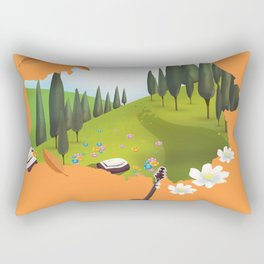 Belarus Rectangular Pillow
