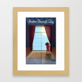 Another Beautiful Day Framed Art Print