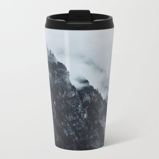 FOG ROLLS IN Metal Travel Mug