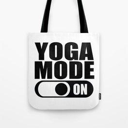 Yoga Mode On Gift Tote Bag