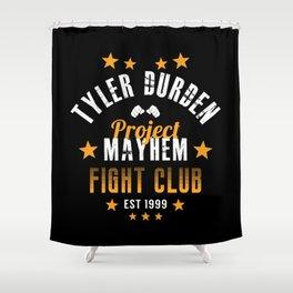 Tyler Durden - Project Mayhem Shower Curtain
