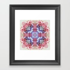 summer love N°3  (pattern) Framed Art Print