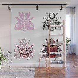 4 samurais - 1. Wall Mural