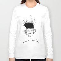 jay fleck Long Sleeve T-shirts featuring Jay by Ivana Quesada