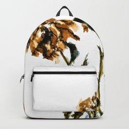 Three dried peonies Backpack