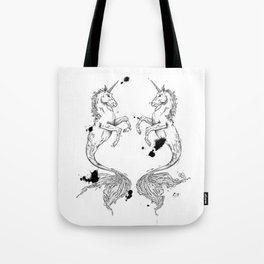 Mermaidunicorns Tote Bag