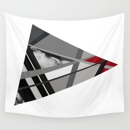 Venus of Triangle Wall Tapestry