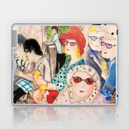 summer in Cambridge Laptop & iPad Skin