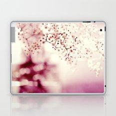 flower gypsophila Laptop & iPad Skin