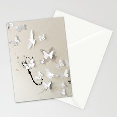 Butterfly Birds Stationery Cards
