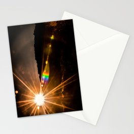 Rainbow Flare Stationery Cards