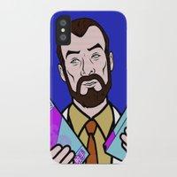 lichtenstein iPhone & iPod Cases featuring Doctor Krieger Lichtenstein by turantuluy