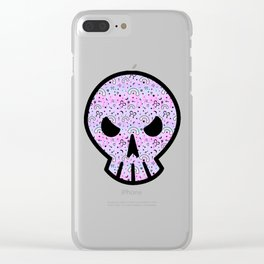 Cute Melting Pastel Chaos Clear iPhone Case