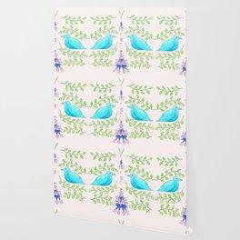 Bluebirds Wallpaper
