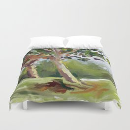 Bermuda Trees Duvet Cover