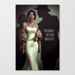 Shadows of New Orleans Canvas Print