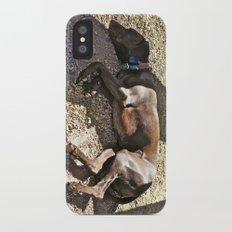 Sleepy Alaska iPhone X Slim Case