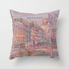 Astoria-Budapest Throw Pillow