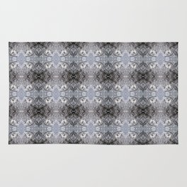 Frosty Glass Abstract Rug