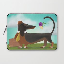 Stop And Smell The Flowers Laptop Sleeve