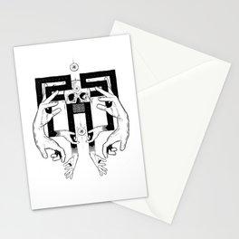 meditation migraine Stationery Cards