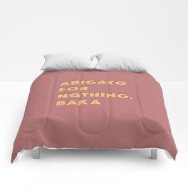 ARIGATO 4 NOTHING Comforters