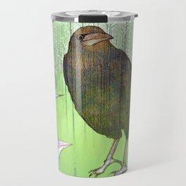 Le roi corbeau Travel Mug