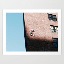 Brick Art Print