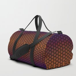 Insta gradient hexagons Duffle Bag