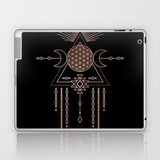 Mandala Flower of Life Rose Gold Pink Laptop & iPad Skin