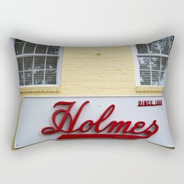 Holmes Store Sign Rectangular Pillow